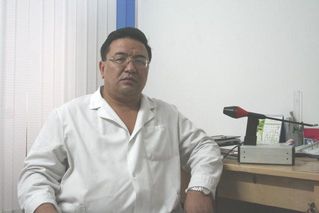 Врач-проктолог Курманбеков К.К.