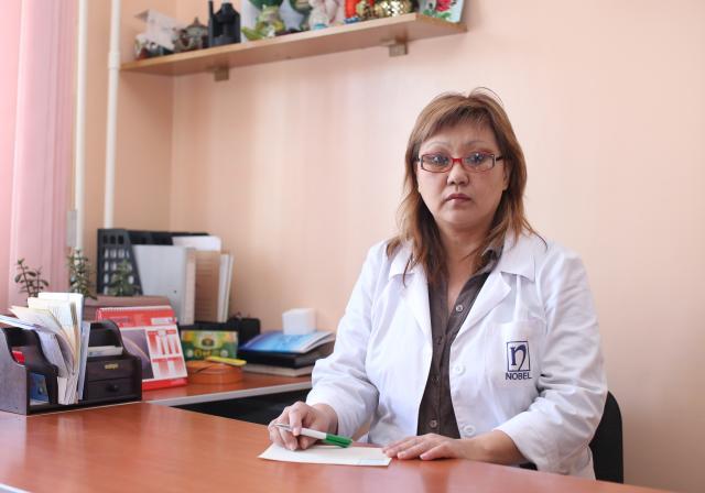 Байшукурова Кумыш Далгарбекона Врач нарколог-реабилитолог высшей категории