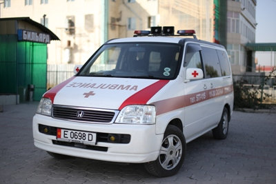 Реанимационная бригада в Бишкеке