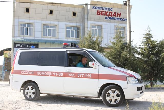 Кардиологическая бригада в Бишкеке