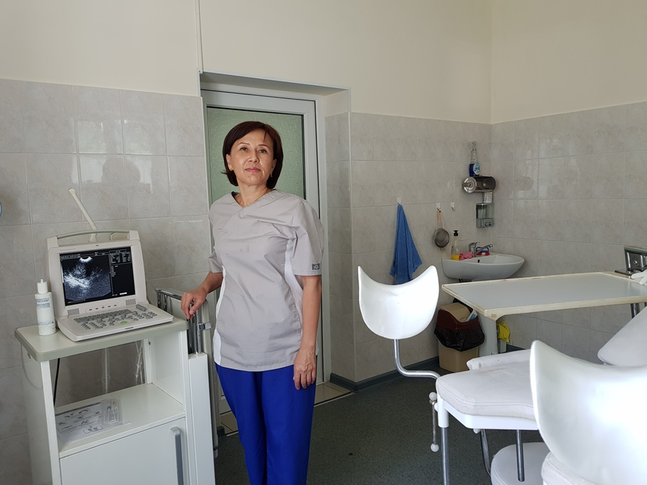 Акушер - гинеколог Чудубаева Э.Ж.