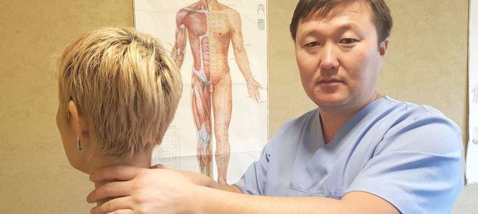 Мануальный терапевт Данияр Эгинбаев